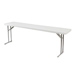 "National Public Seating 18""x72"" Folding Seminar Table bt1800, rectangle, seminar table, 18x72, 72x18, bt1872, bt-1872"