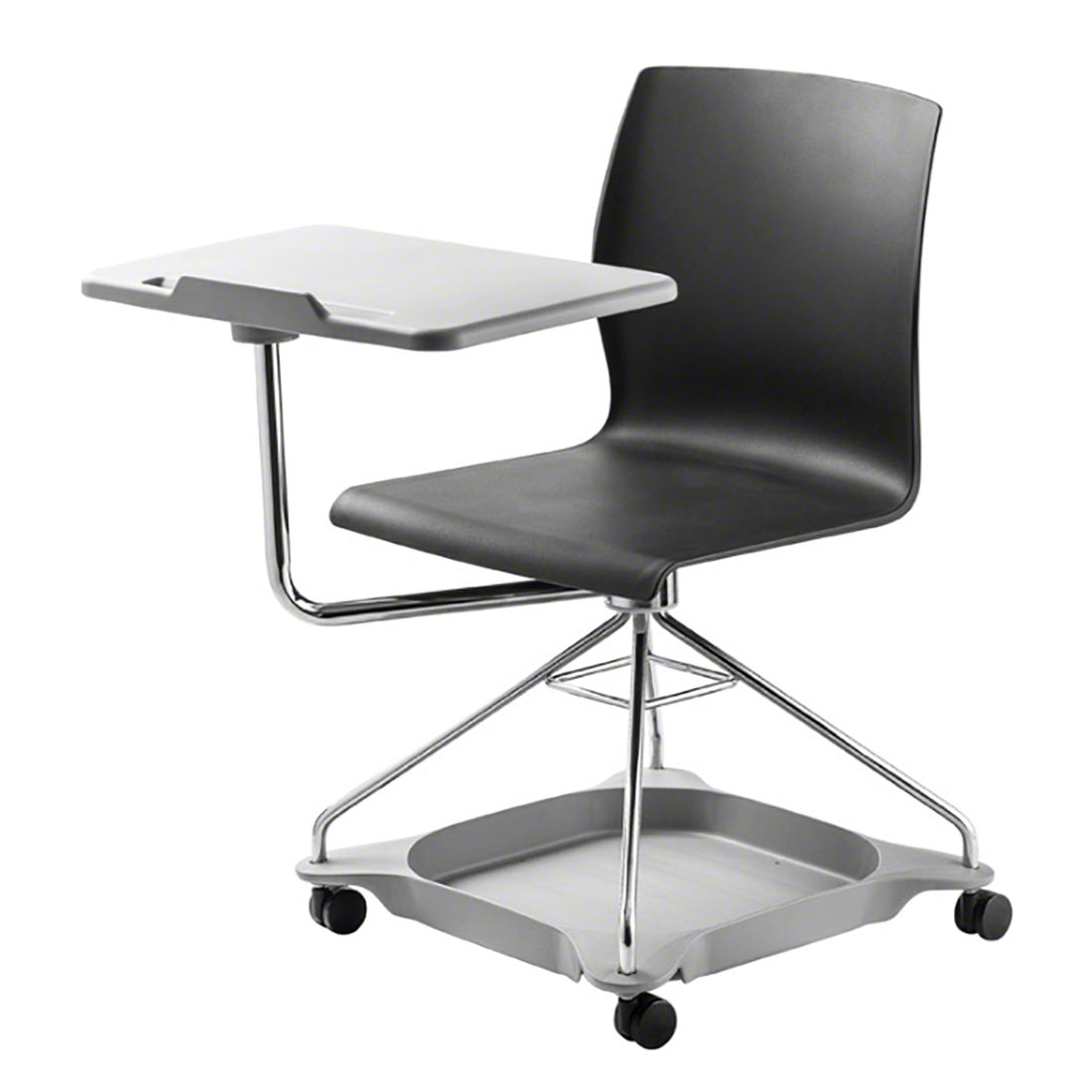 ... National Public Seating Chair on the Go Mobile Tablet Arm Chairs - NPS-COGO ...  sc 1 st  StageDrop Portable Stage u0026 Truss & National Public Seating Chair on the Go Mobile Tablet Arm Chairs ...