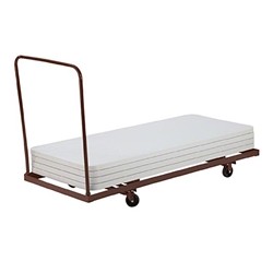National Public Seating 6-Foot Folding Table Dolly 6 foot table dolly, 30x72, 72x30 table storage, table trolley, tab le transportation