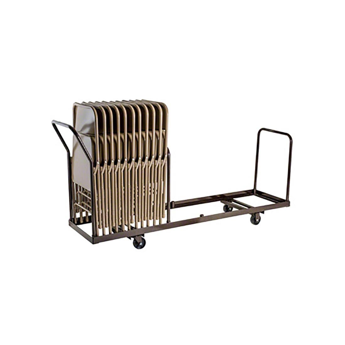 National Public Seating Dy 35 Folding Chair Dolly For Vertical Storage