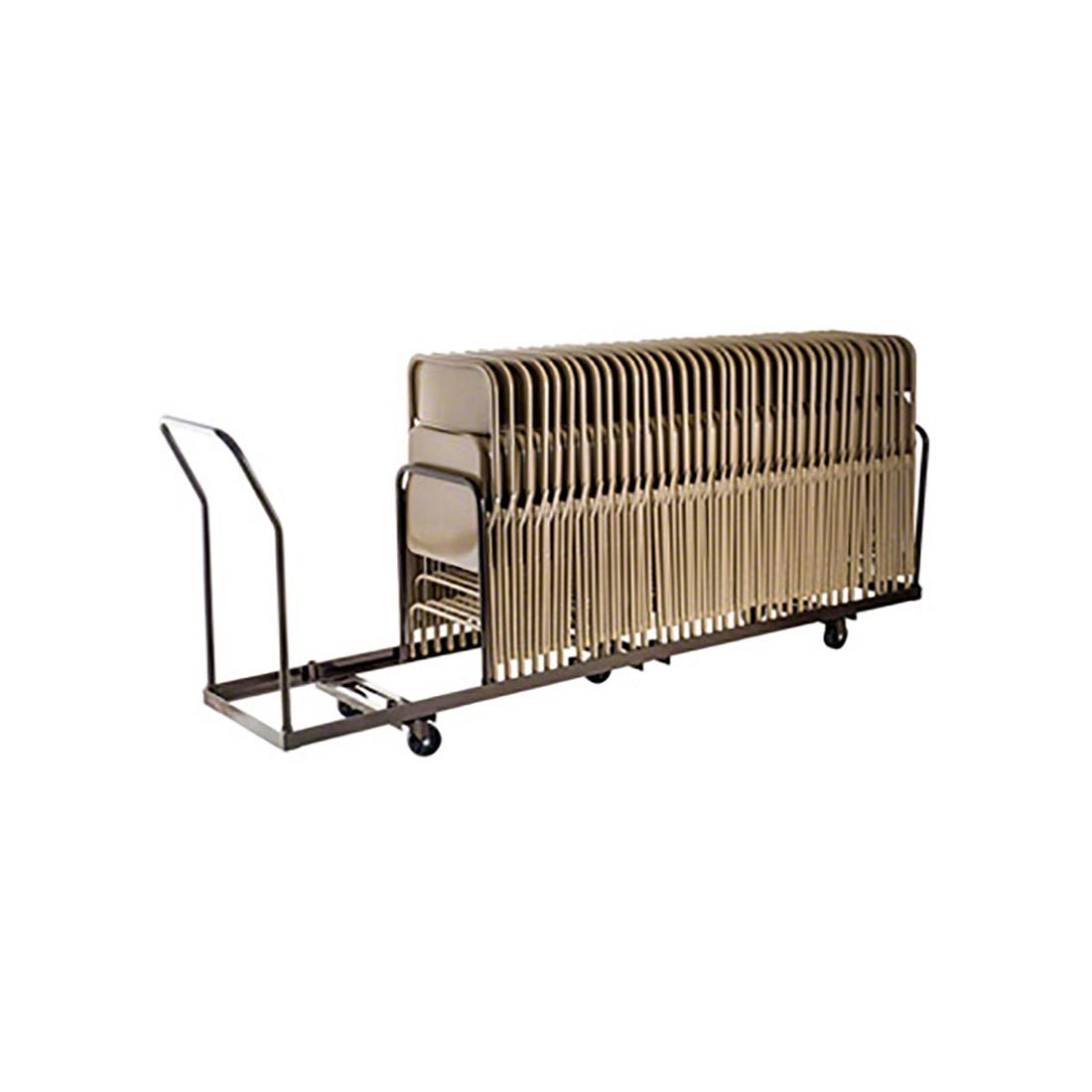 national public seating dy 50 folding chair dolly nps dy 50 - National Public Seating