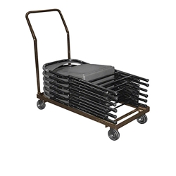 National Public Seating 800 Series Folding Chair Dolly folding chair trolley, folding chair storage, cart, dolley