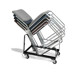 National Public Seating 8600 Series Signature Stack Chair Dolly stacking chair trolley