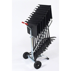 National Public Seating 10-Stand Melody Music Stand Transport Dolly