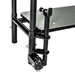"National Public Seating STP16 1-Step Stairs for 16"" High Stage - NPS-STP16"
