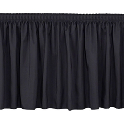"National Public Seating Shirred Stage Skirt for 8"" High Stages stage skirting, platform skirt, platform skirting, 8x8, 8 x 8, 96x8, 8x96, 96 x 8, 8x4, 4 x 8, 48x8, 8x48, 48 x 8, 8x3, 8 x 3, 36x8, 8x36, 36 x 8, nps"