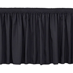 "National Public Seating Shirred Stage Skirt for 16"" High Stage stage skirting, platform skirt, platform skirting, 8x16, 8 x 16, 96x16, 16x96, 96 x 16, national public seating, 16x16, 16 x 16, 96 x 16, 16x4, 4 x 16, 48x16, 16x48, 48 x 16, 16x3, 16 x 3, 36x16, 16x36, 36 x 16, nps"
