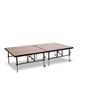 "National Public Seating TransFix 4'x8' Hardboard Stage Kit, 24""-32"" High"