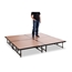 "National Public Seating TransFix 8'x8' Hardboard Stage Kit, 16""-24"" High - SDTFX64HB16"
