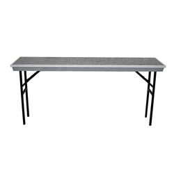 "National Public Seating Add-on for Straight Trans-Port Standing Choral Riser (32"" High) choral risers, band risers, school risers, straight risers, transport risers, trans port risers, choir stage risers"