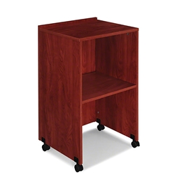 Oklahoma Sound 112 Lectern Base/AV Cart teaching lecterns, training lecterns, lecterns, non sound lecterns, school furniture, college furniture, university furniture, church