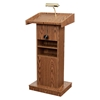 Oklahoma Sound 810 Orator Lectern, Medium Oak