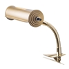 Oklahoma Sound BRL Clip-on Brass Reading Light for Lecterns