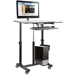 Oklahoma Sound EDTCP Edutouch Pro Sit-Stand Cart av cart, a/v cart, audio visual cart