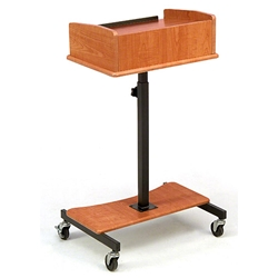 Oklahoma Sound LSS Laptop Speaker Stand av cart, a/v cart, audio visual cart, projector stand, laptop stand