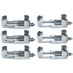 Pro Flex Panel to Panel Stage Clamp (6-pack) portable stage clamps, stage panel parts