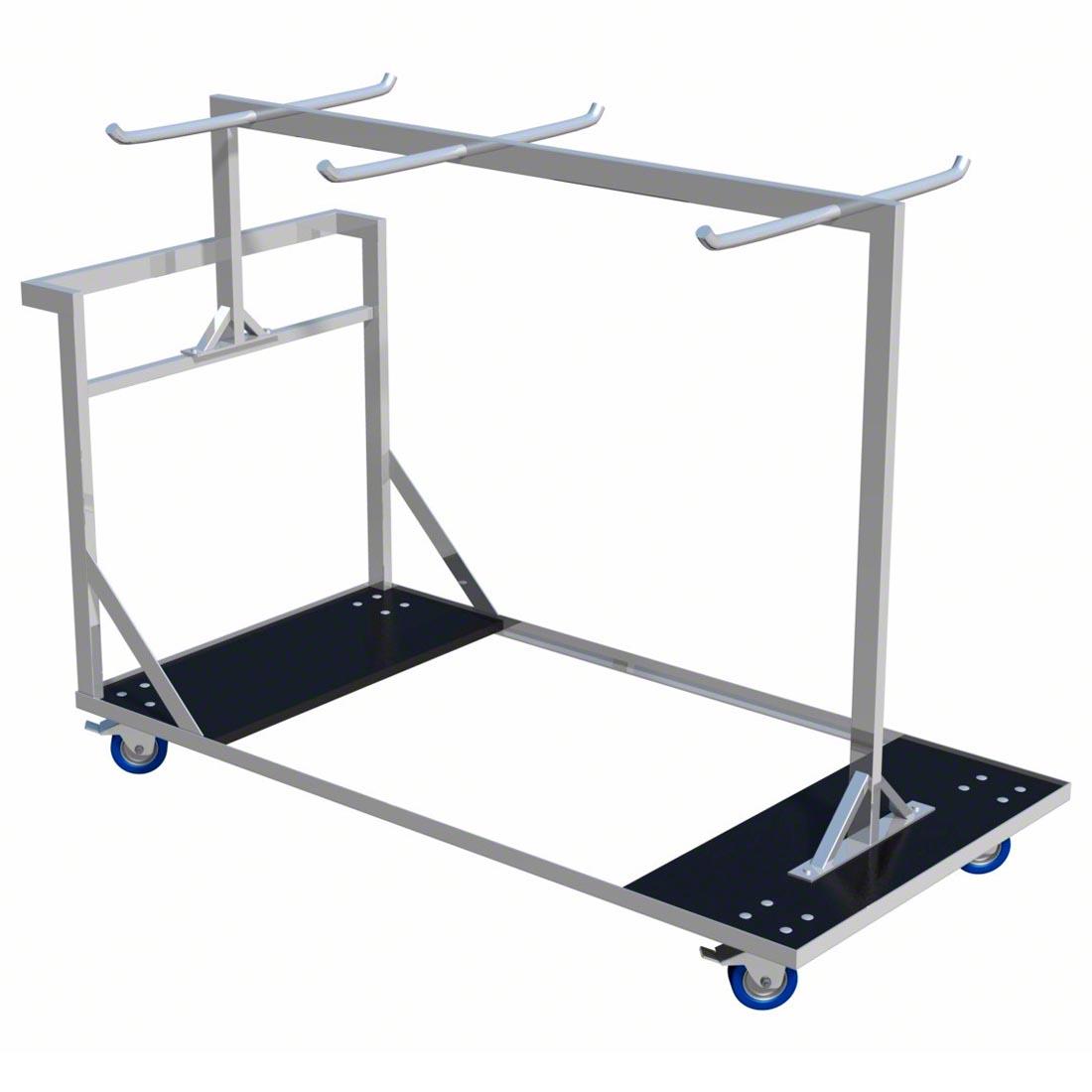 Portable Guard Rails : Pro flex guard rails trolley fits foot guardrails