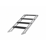 "Pro Flex Four-Step Adjustable Stairs for Stages 23.75""-39.25"" High  portable stage steps, stairs"