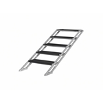 "Pro Flex Five-Step Adjustable Stairs for Stages 31.5""-55"" High  portable stage steps, stairs"