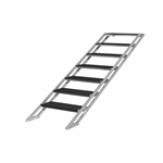 "Pro Flex Seven-Step Adjustable Stairs for Stages 39.5""-70.75"" High  portable stage steps, stairs"