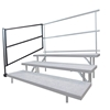Staging 101 Side Guard Rail for Tiered Choral Risers (2-pack)