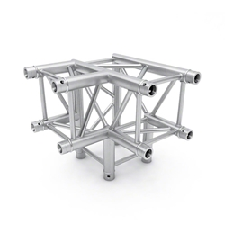 Pro-Flex Square Truss 90 Degree Horizontal Corner with Leg