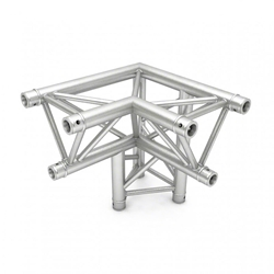 Pro-Flex Triangle Truss 90-Degree Horizontal Corner with Leg, Left