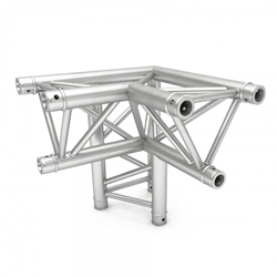 Pro-Flex Triangle Truss 90-Degree Horizontal Corner with Leg, Right
