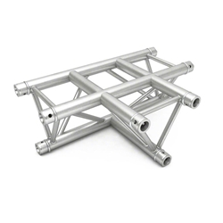 Pro-Flex Triangle Truss T Corner 3-Way Horizontal global truss, dura truss, euro truss