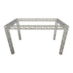 ProX EXPO 10x20 Trade Show Booth F34 Square Truss Package 10x20, 10 x 20 portable stage trussing, exhibitor booth, ts10x20, tt10x20