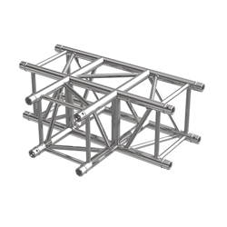 Pro-Flex Square Truss T Corner global truss, dura truss, euro truss