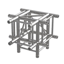 Pro-Flex Square Truss T Corner with Leg