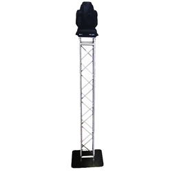 Pro-Flex Square Truss Moving Head Totem, 6.5 ft High trussing totems