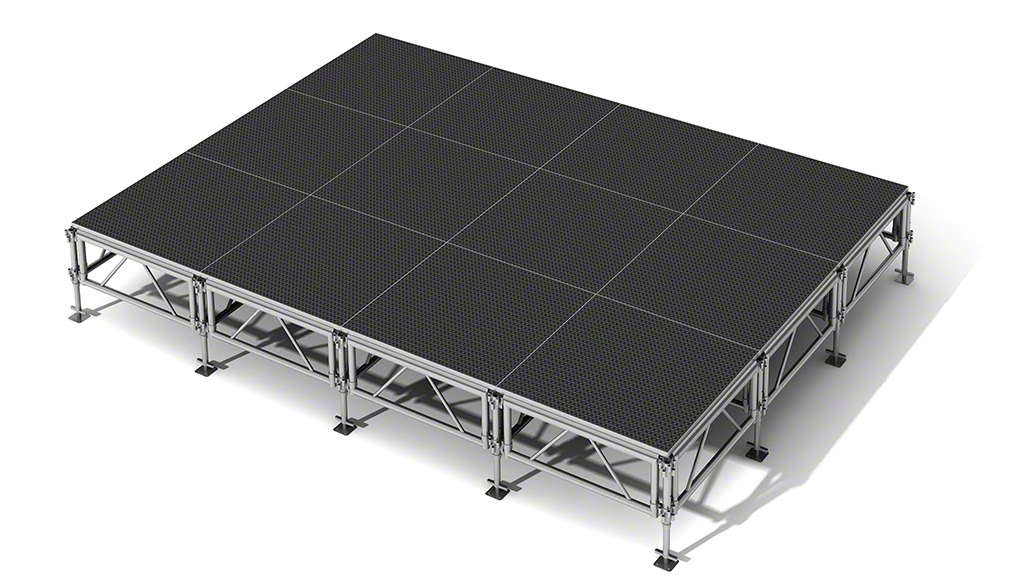 All-Terrain 12x16 Outdoor Stage System