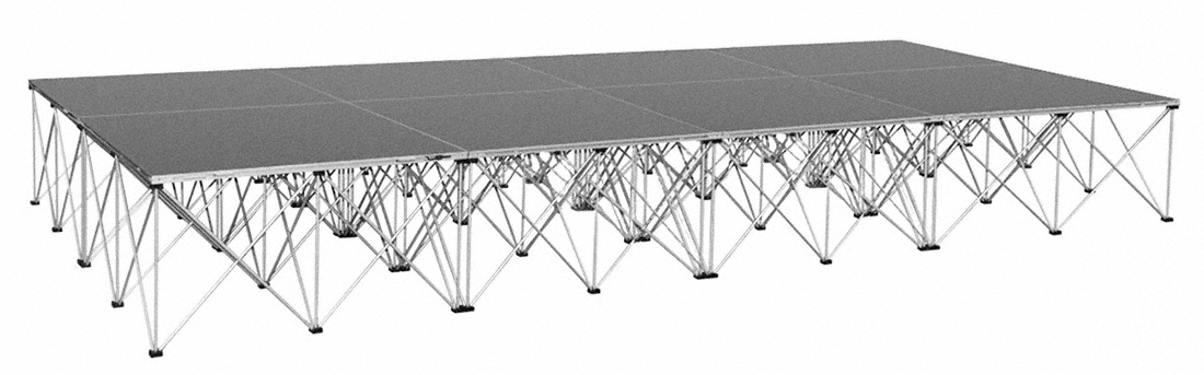IntelliStage 6x12 Portable Stage