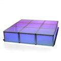 "ProX Lumo Stage 6'x6' Acrylic Stage w/Optional Lights, 16"" High"