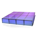 "ProX Lumo Stage 8'x8' Acrylic Stage w/Optional Lights, 16"" High"