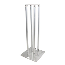 ProX 1.5m F31 Single Tube Truss Totem Package with White Cover global truss GLO TOTEM 1.5, trussing totems, trussing towers, ProX Direct, square truss, 1.5m truss