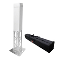 ProX K-Truss 1.5m Square Totem Package with White Cover & Carry Bag