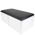 ProX Padded Seat Cushion for 2'x4' Lumo Stage, Black