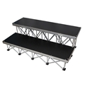 "ProX StageX 2-Step Stairs for 24"" High Stage"