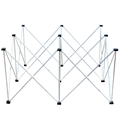 "ProX StageX Lightweight 4'x4' Square Stage Riser, 24"" High"