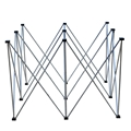 "ProX StageX Lightweight 4'x4' Square Stage Riser, 32"" High"