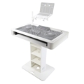 ProX Pioneer Control Tower DJ Podium & Cases, White