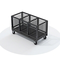 QuickLock Staging Leg & Hardware Storage Cart