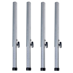"QuickLock Staging Telescoping Stage Legs, 24""-32"" High (4-Pack) 4x4, 48x48, 3x3, 36x36, portable stage, portable staging, stage legs, quicklock, quicklock staging, height adjustable, telescoping legs"