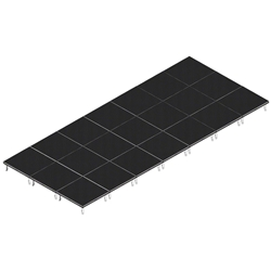 QuickLock Staging 12x28 Indoor/Outdoor Stage System 12x28, 28x12, portable stage platform, portable staging platform, stage deck, stage panel, quicklock, quicklock staging