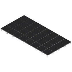 QuickLock Staging 16x32 Indoor/Outdoor Stage System 16x32, 32x16, portable stage platform, portable staging platform, stage deck, stage panel, quicklock, quicklock staging