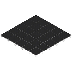 QuickLock Staging 20x20 Indoor/Outdoor Stage System 20x20, 20 x 20, portable stage platform, portable staging platform, stage deck, stage panel, quicklock, quicklock staging