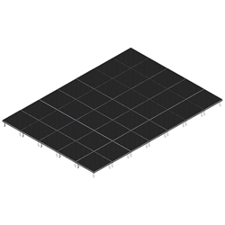 QuickLock Staging 20x28 Indoor/Outdoor Stage System 20x28, 28x20, portable stage platform, portable staging platform, stage deck, stage panel, quicklock, quicklock staging